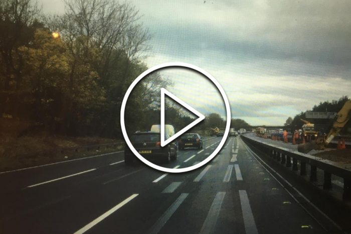 Vanishing act for ghost markings thanks to Highways England road trials