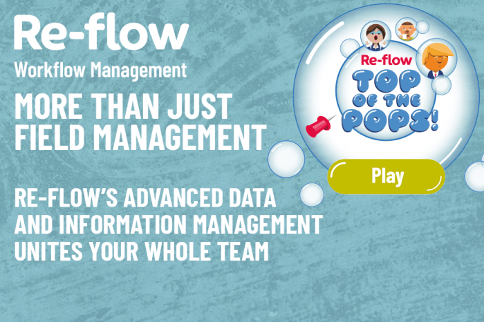 Re-flow | Re-flow Workflow Management gets creative to show wider product benefits