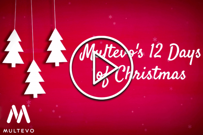 Multevo | Celebrating 10-year milestone with festive 12 days of Christmas twist