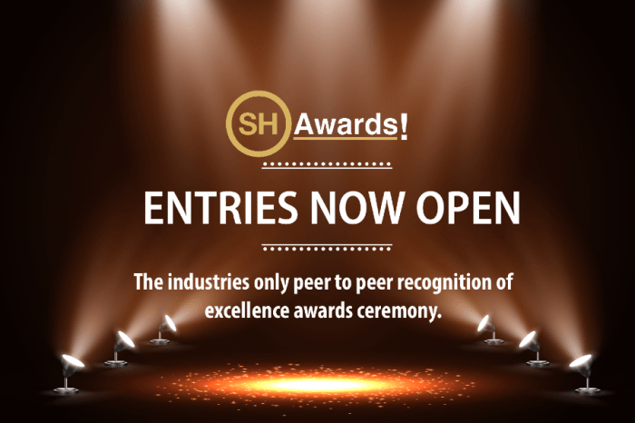 SH Awards online entries now open