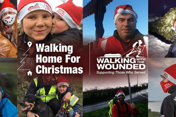 TMCA | Walking home for Christmas: Walking with the Wounded