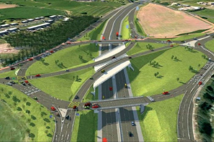 New year weekend junction closures in Cheshire as M6 bridge takes shape