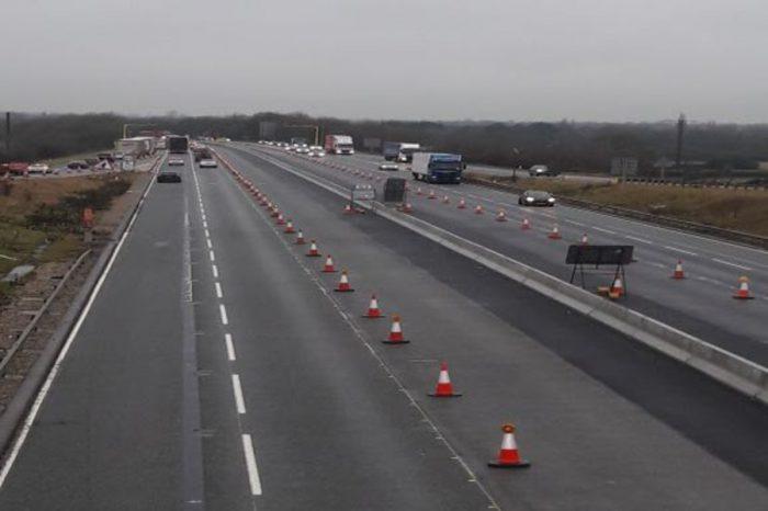 Vital improvement work revitalises two Yorkshire motorways
