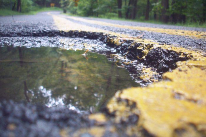 Potholes are plaguing heavily damaged UK roads