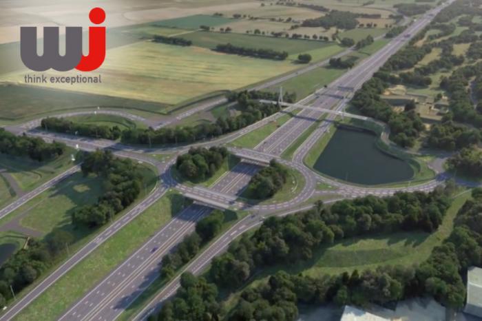 WJ | WJ Group Scoop Prestigious Highways Award