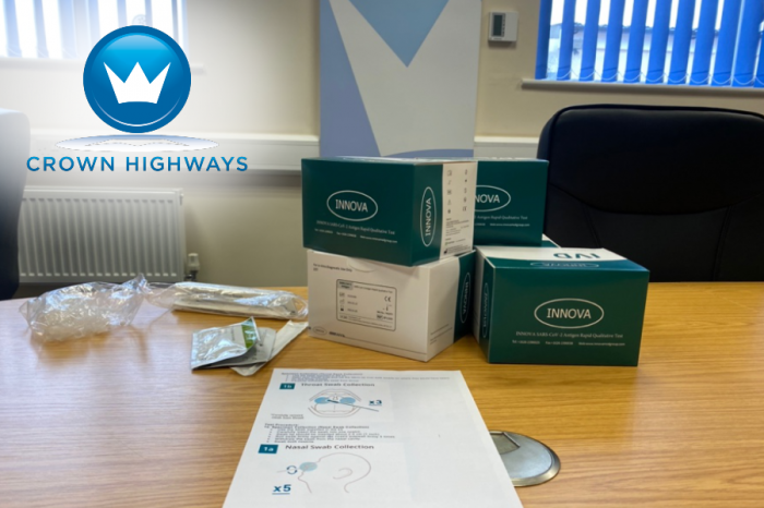 Crown Highways | Crown Highways introduces COVID-19 Testing Programme