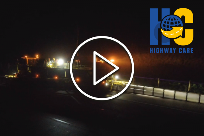 Highway Care | Operation Brock Moveable Barrier Project