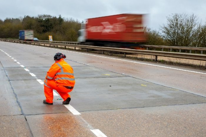Highways England unveils multi-million pound initiative to revitalise ageing concrete roads