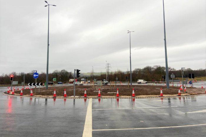 Multi-million-pound upgrade on Westwood roundabout complete