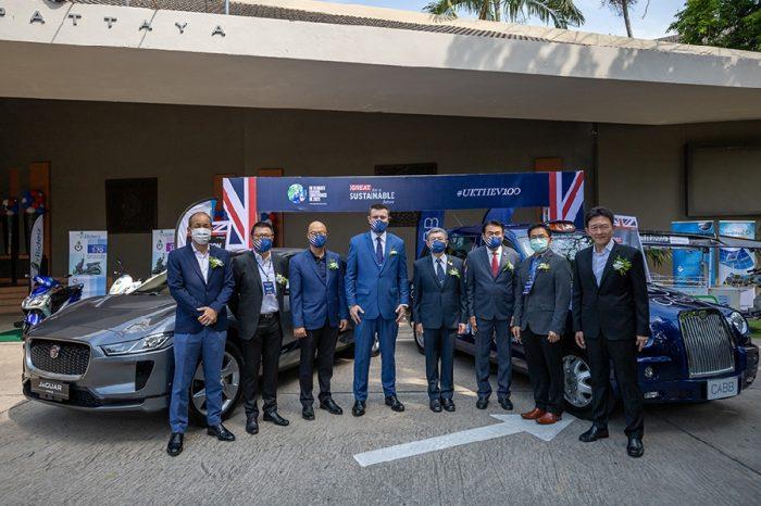 British Embassy Bangkok showcases British EV and smart city solutions