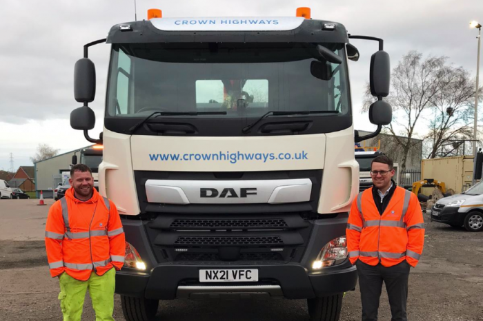 Crown Highways | Crown Highways invest in Lighting department with arrival of brand-new grab wagon and half a million-pound investment