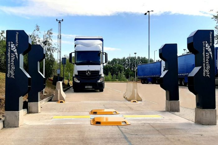 Cutting edge technology on right track to improve tyre safety