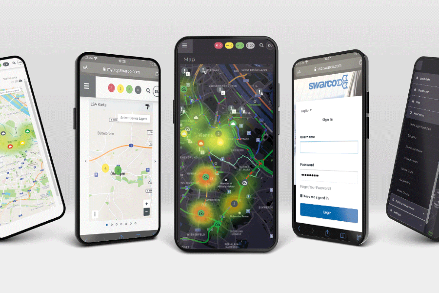 SWARCO   SWARCO launches MyCity 1.0