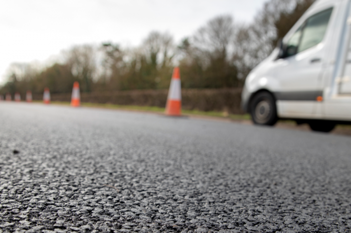 Tarmac | Turning old tyres into new roads on the A426 Leicestershire