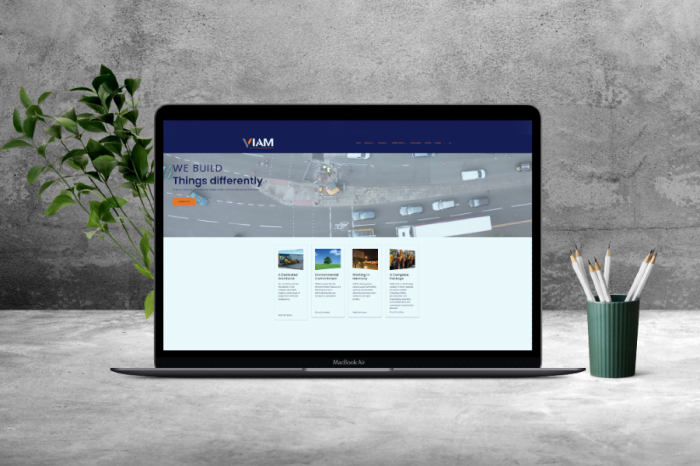 VIAM Ltd | Civil Engineering Company King Construction Rebrands As VIAM Ltd