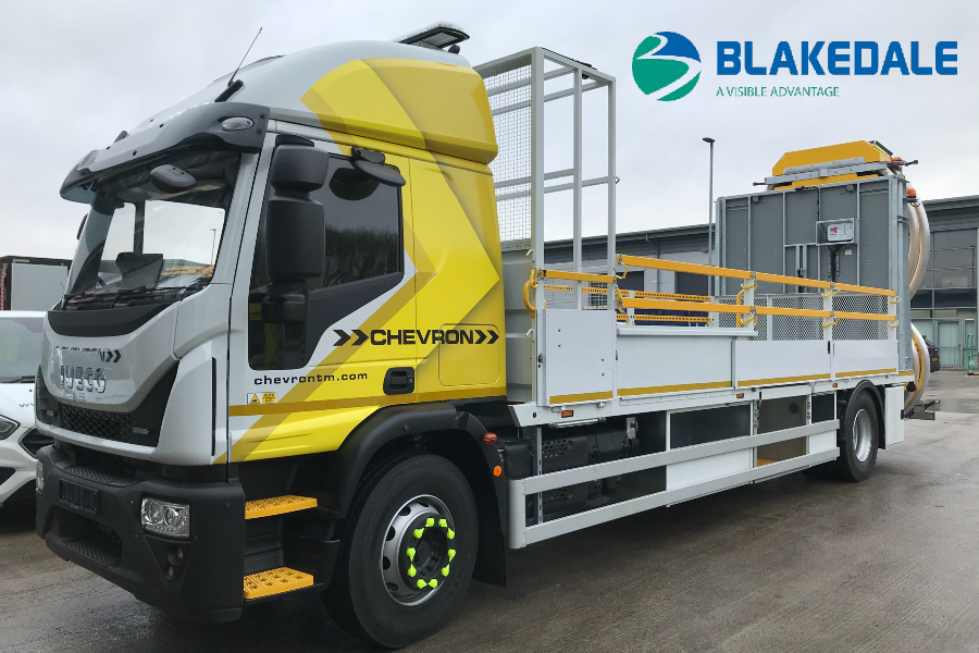 Blakedale | Not just a hire fleet: Chevron TM collaboration showcases both sides to the business