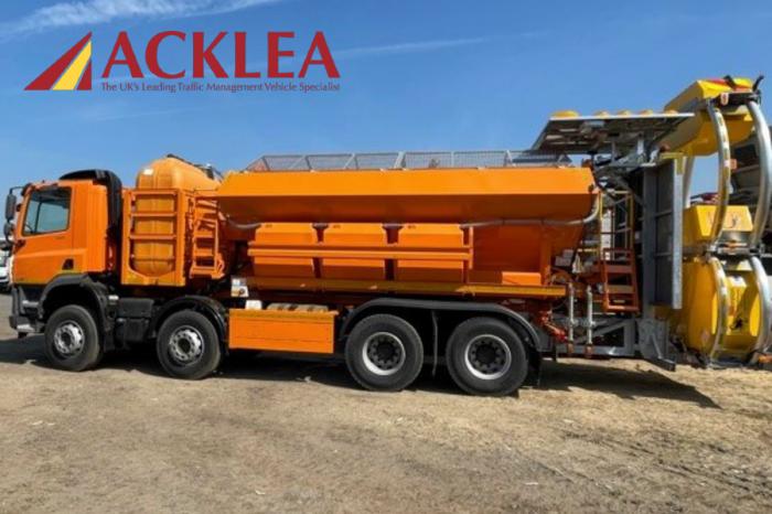 Acklea | Adaptability of gritters key for BEAR Scotland