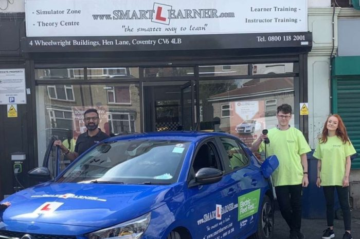 Learner drivers in Coventry plugging in to electric vehicles