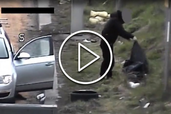 How fly-tippers dumping rubbish on M6 were caught on Highways England CCTV