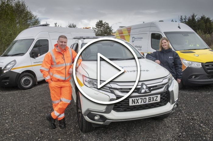 New highways operation takes to road with advanced safety gear