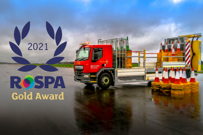 Amberon TM | Amberon receives RoSPA Gold Award for health and safety achievements