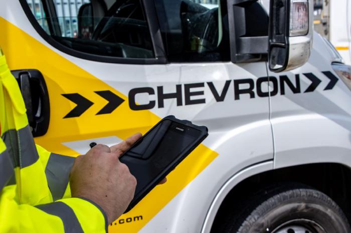 Chevron TM   Chevron TM Changing the Face of Traffic Management