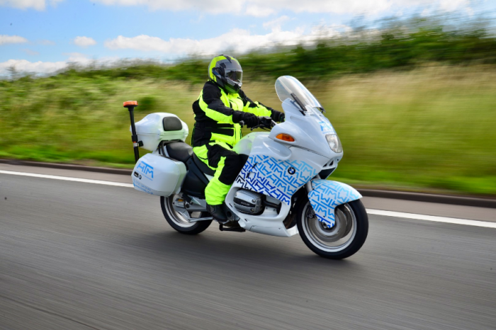HTM | HTM expand their fleet with new BMW R1100RT