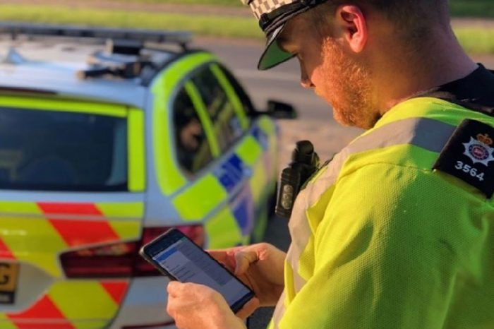 DVLA and Home Office bring latest tech to police roadside checks