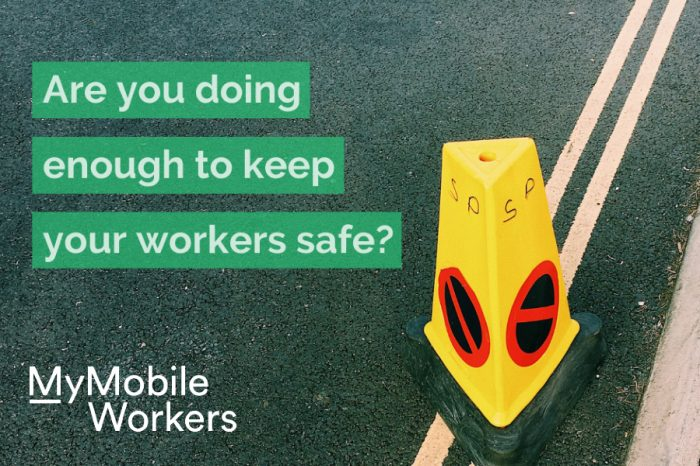 MyMobileWorkers   Are you doing enough to keep your road workers safe?
