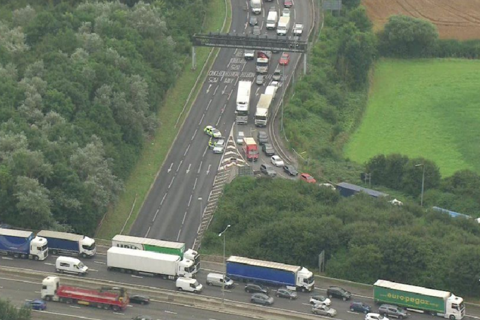 Campaigners block M25 junctions for a second time