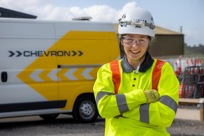 Chevron TM | Chevron TM and Chevron Green Services secure places on National Highways framework