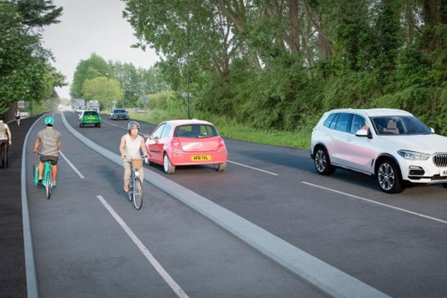Engagement into plans for cycle route reaches final week