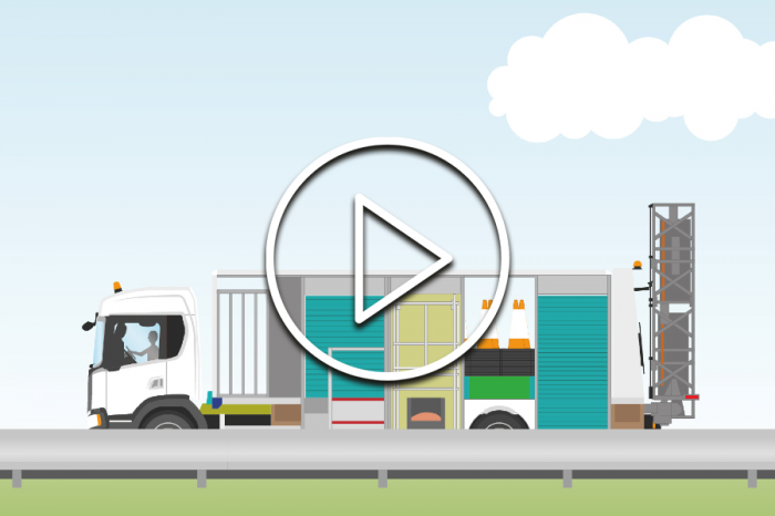 Kier collaborates with ergonomic specialists to create safer traffic management truck