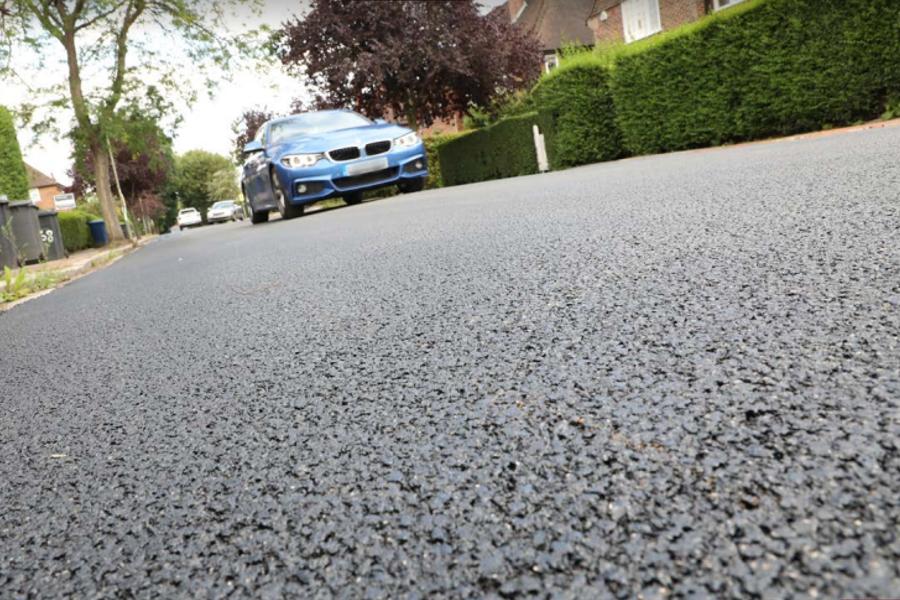 Tarmac   Sustainable road surfacing in the London Borough of Barnet