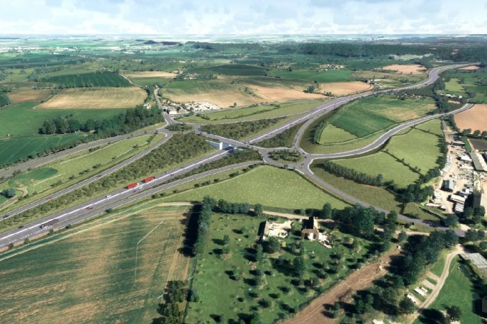 Consultation launches on new designs for A358 Taunton to Southfields upgrade