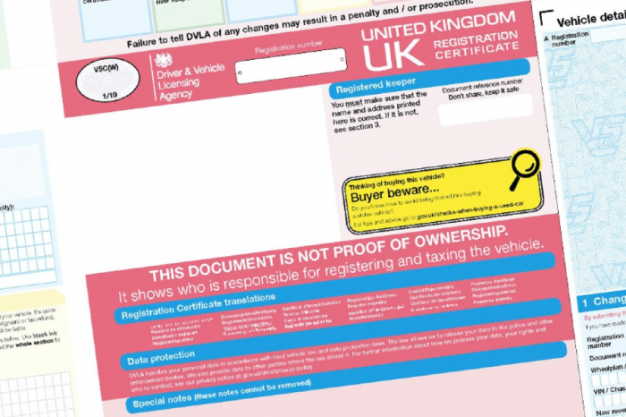 Unusual reasons people have shared with DVLA for needing replacement vehicle registration certificate (V5C)