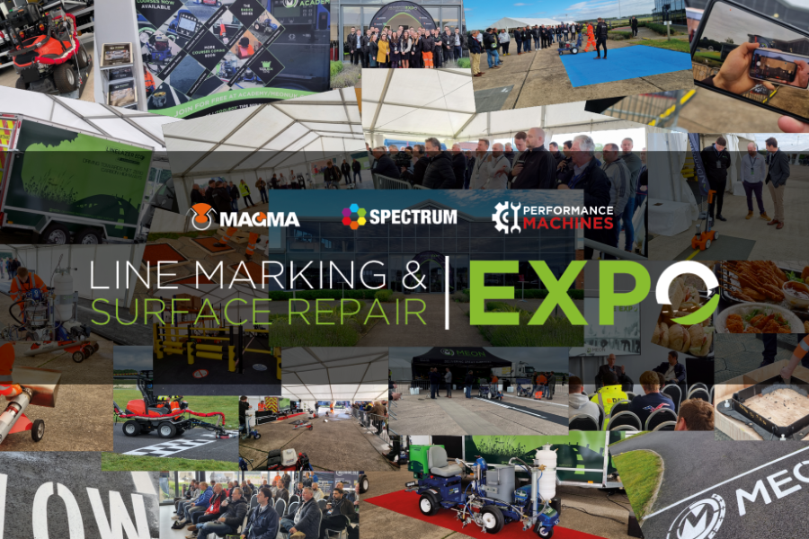 Meon | Ground Breaking World-Class Innovation Unveiled at the Line Marking and Surface Repair EXPO
