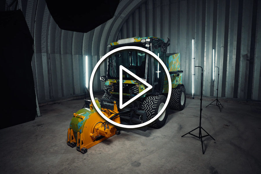 Multevo | Introducing the World-First Hydrohog – A High-Performance, Low Emission Multi-Purpose Highway Maintenance Machine
