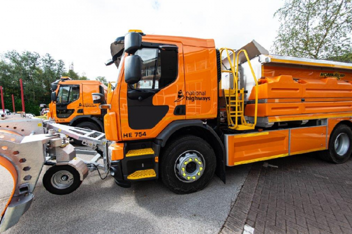 National Highways to receive 120 new gritting vehicles to help keep drivers safe this winter