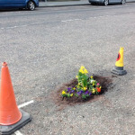 A slightly different pothole 'solution'